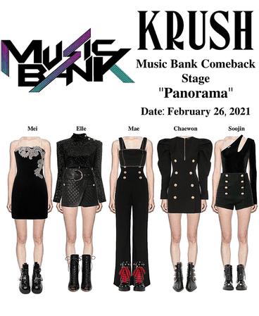 KRUSH Music Bank Comeback Stage