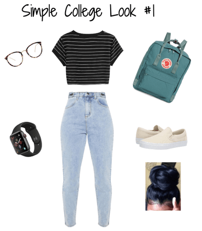 Simple College Look #1