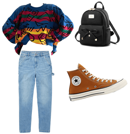 School/ back in years day (spirit day 90s)