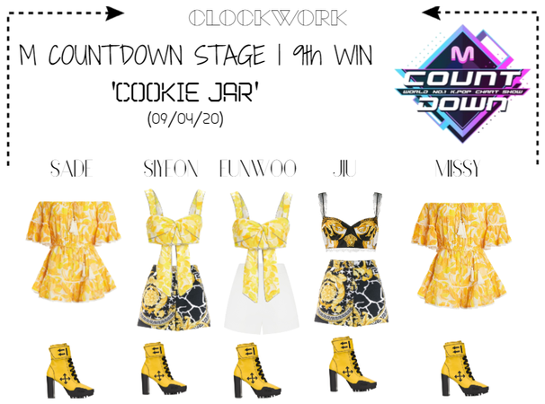 *CWK* | M COUNTDOWN | 'COOKIE JAR' | 9th WIN
