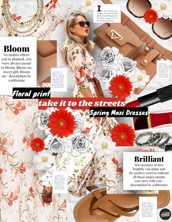 Spring Street Style: Essential Floral Maxi Dress