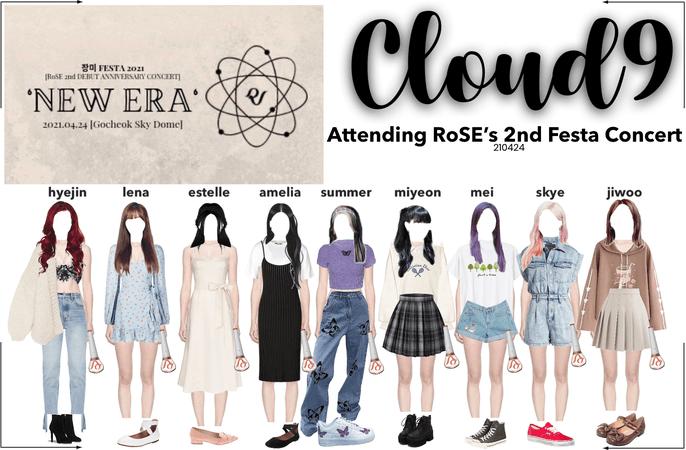 """Cloud9 (구름아홉)   Attending RoSE's 2nd Fest Concert """"New Era"""""""