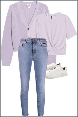Comfy purple