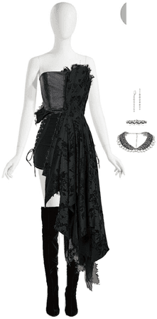 Black Halloween outfit 3