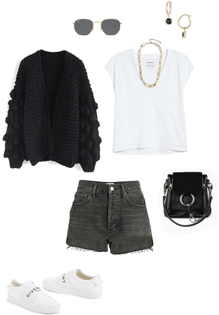 Basic short outfit