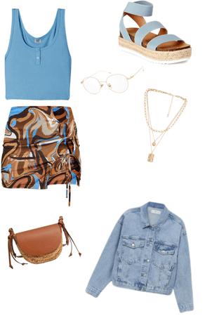 blue skies in the 70's
