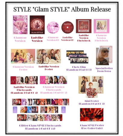 """STYLE """"Glam STYLE"""" Album Release"""