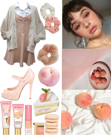 Peach Outfit!