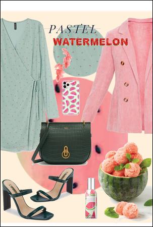 Pastel watermelon