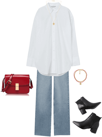 Simple-chic look