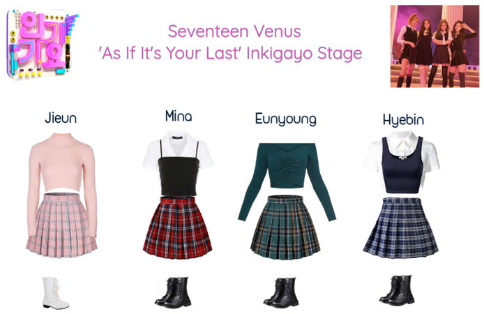 Seventeen Venus Inkigayo Stage