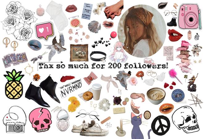 Thx so much for 200 followers!