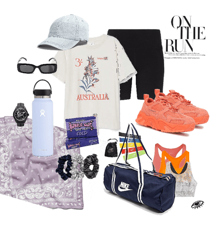 Work Out Influencer Outfit