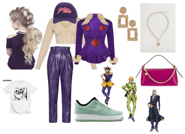 jojo bizarre adventure giorno cosplay inspiration