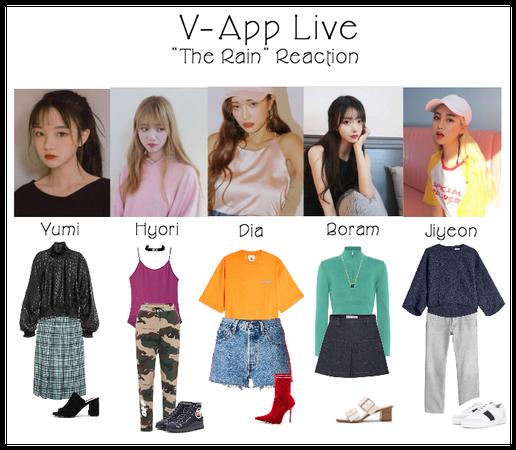 V-Live App: Live Reaction