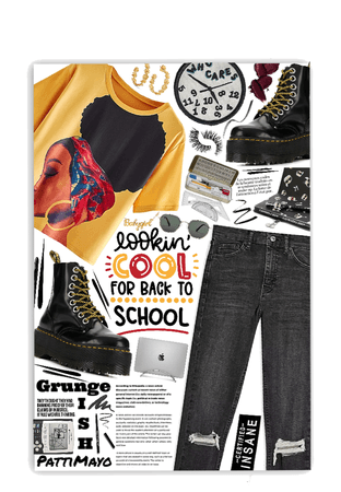 BACK TO SCHOOL GRUNGE STYLE 📓
