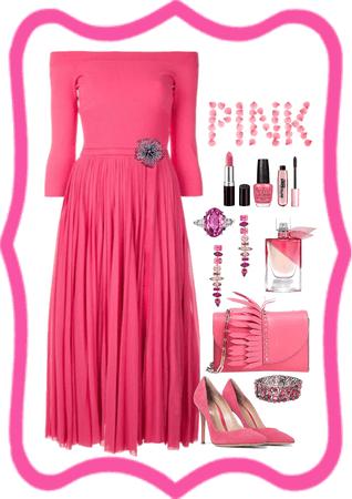 Pink Monochromatic Challenge