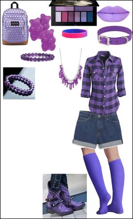 Zoey Volturi inspired Rapunzel lookbook