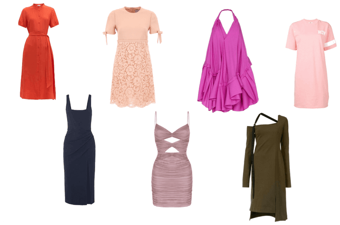 Vestidos dia 7 estilos