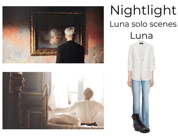 Nightlight 'Iriwa' luna solo scenes