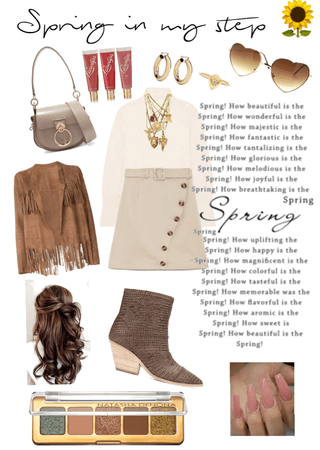 spring in my step 🌻xox