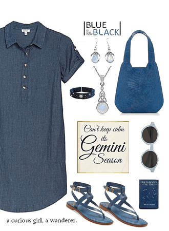 Blue on Gemini