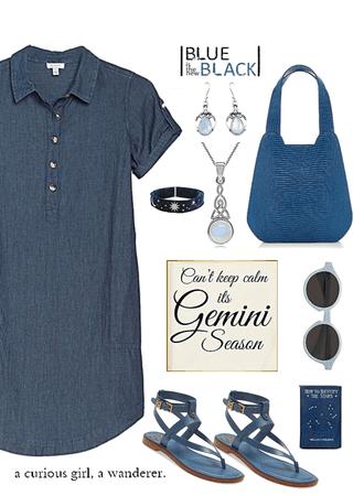 Blue on Gemini