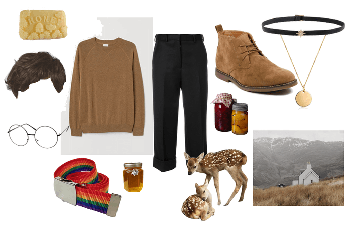 """Men's"" Queer Cottagecore Outfit"