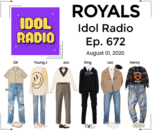 ROYALS [감청색] Idol Radio