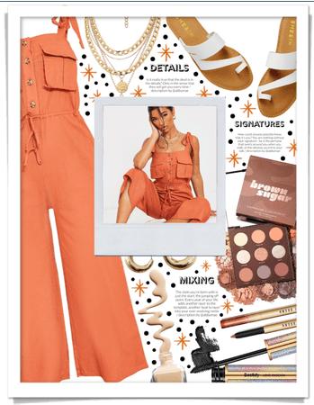Orange Playsuit 🧡