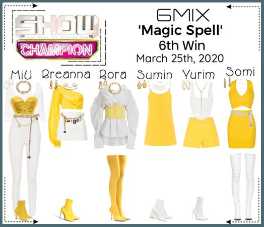《6mix》Show Champion Live 'Magic Spell'