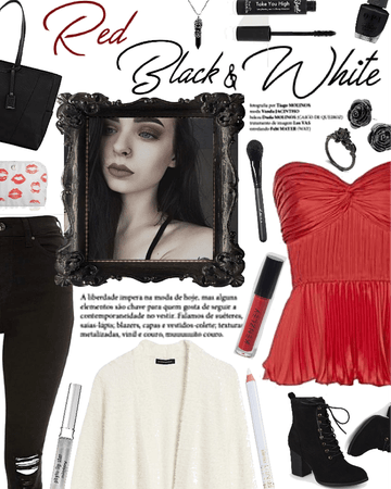 Red, Black, and White