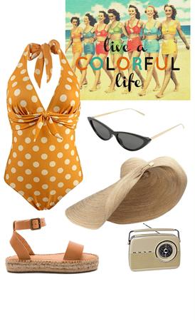 Style Diary Vol. 8: Retro Swimsuit