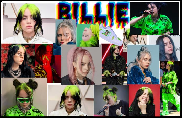 Billie Eilish Collage 2.0