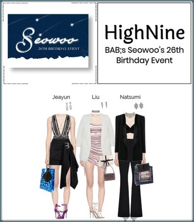 HighNine (하이 나인) BAB's Seowoo's Birthday Event