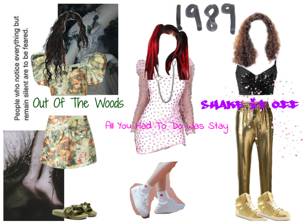 1989 Tay Swift songs as Outfits *Pt.2*