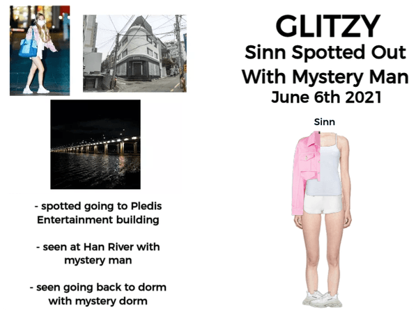 GLITZY [화려한] (Sinn) Spotted By Fans!