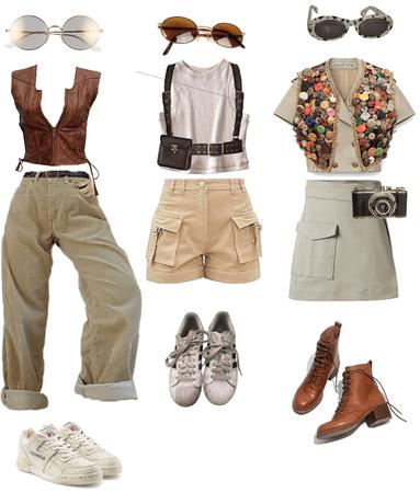 explorer outfits