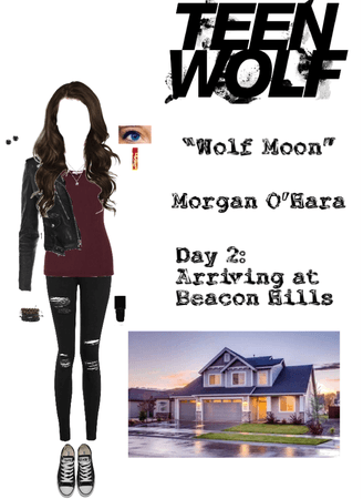 "Teen Wolf: ""Wolf Moon"" - Morgan O'Hara - Day 2: Arriving at Beacon Hills"