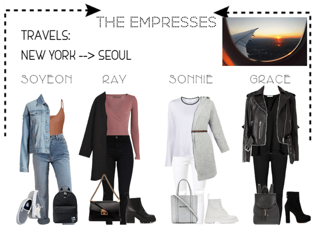 [THE EMPRESSES] TRAVEL NEW YORK TO SEOUL