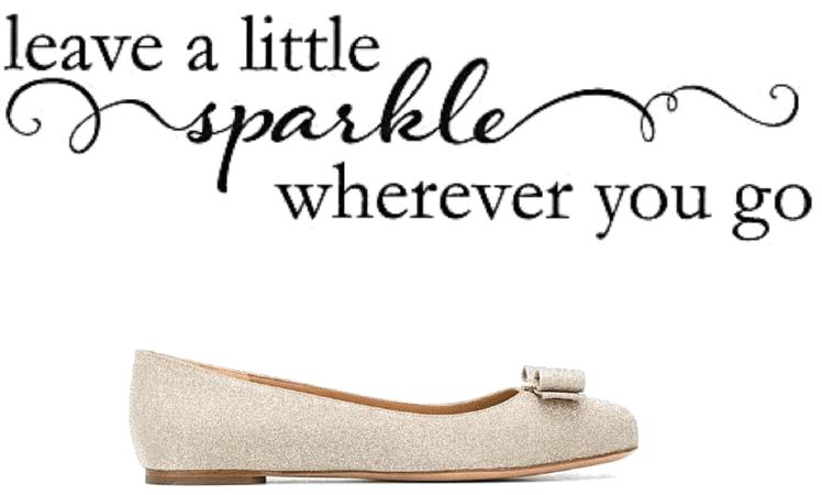 leave a little sparkle wherever you go