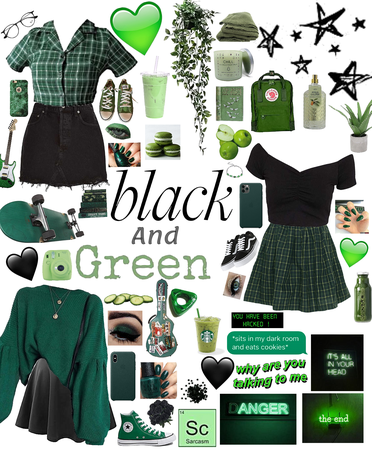 Black and Green!💚🖤