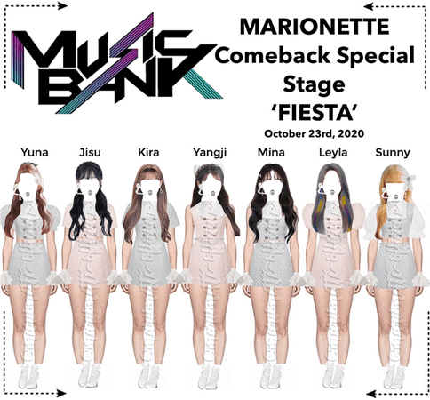 MARIONETTE (마리오네트) [MUSIC BANK] Comeback Special Stage | ❝𝐖 𝐈 𝐒 𝐇❞ - FESTA 2020