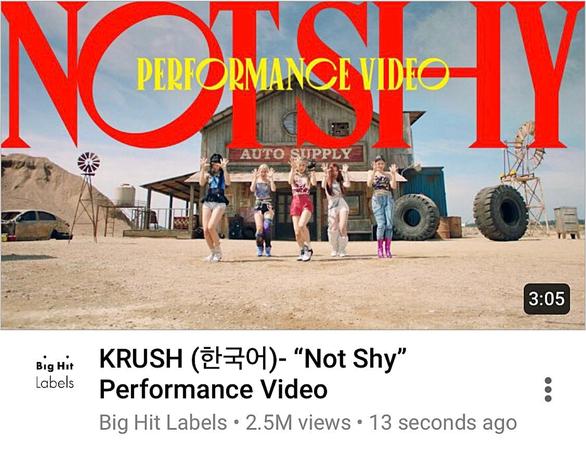 "KRUSH (한국어)- ""Not Shy"" Performance Video"