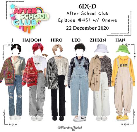 6IX-D [씩스띠] After School Club 201222