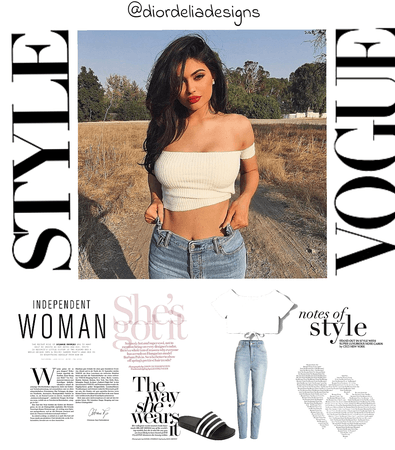 Kylie Jenner inspired look