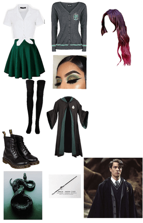 His slytherin