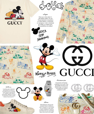 Gucci - Mickey Mouse