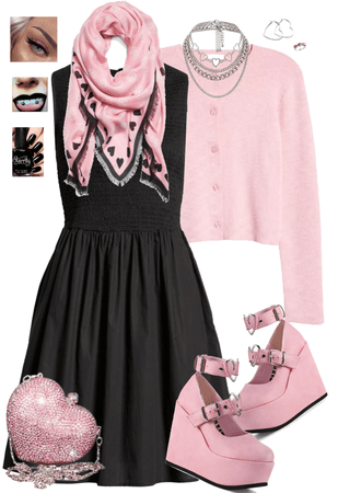 Pink Punk Pumps