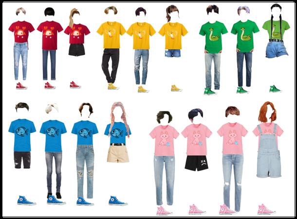 camp colours